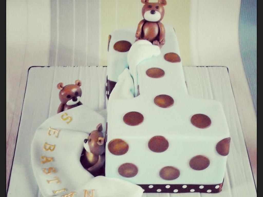 Baby Boys 1st Birthday Cake Cakecentral Com