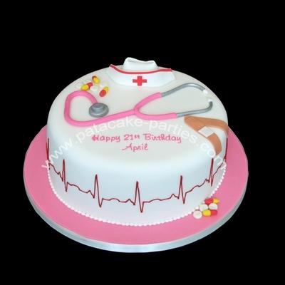 Nurse Cake Decorating Photos