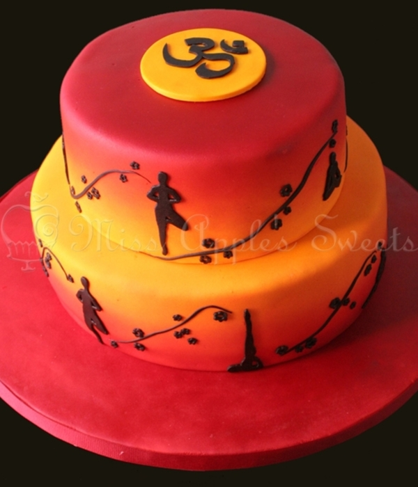 Top Yoga Inspired Cakes Cakecentral Com