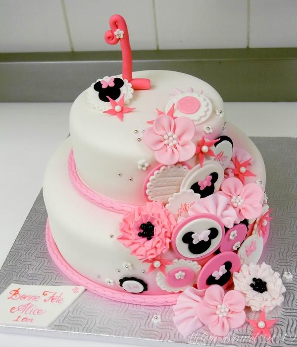 Minnie Mouse Birthday Cake Ideas Http Dimitrastories Blogspot Com