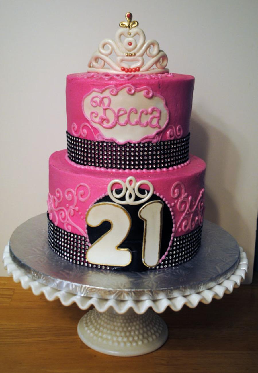 Cake Recipes Birthday 21st Easy