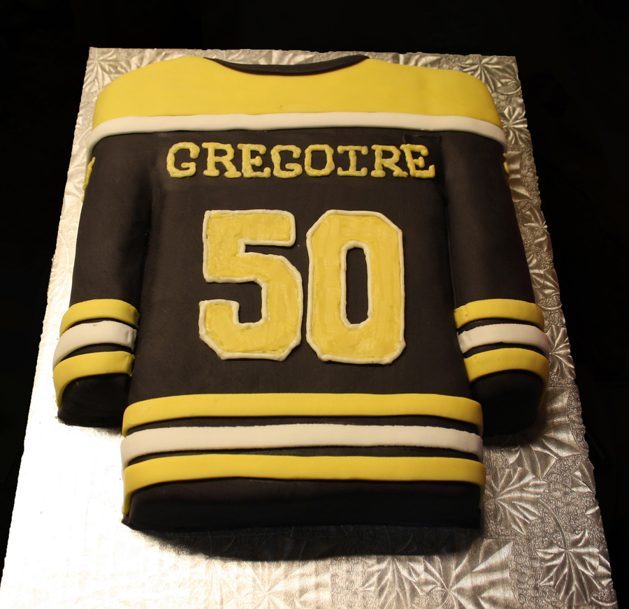 Boston Bruins Birthday Cake