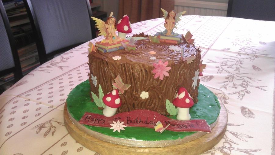 Fairy Woodland Chocolate Cake Cakecentral Com