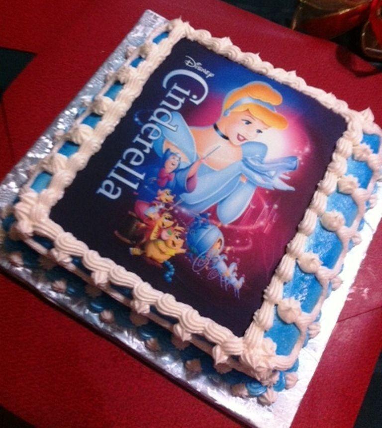 Cinderella Sheet Cake Cakecentral Com