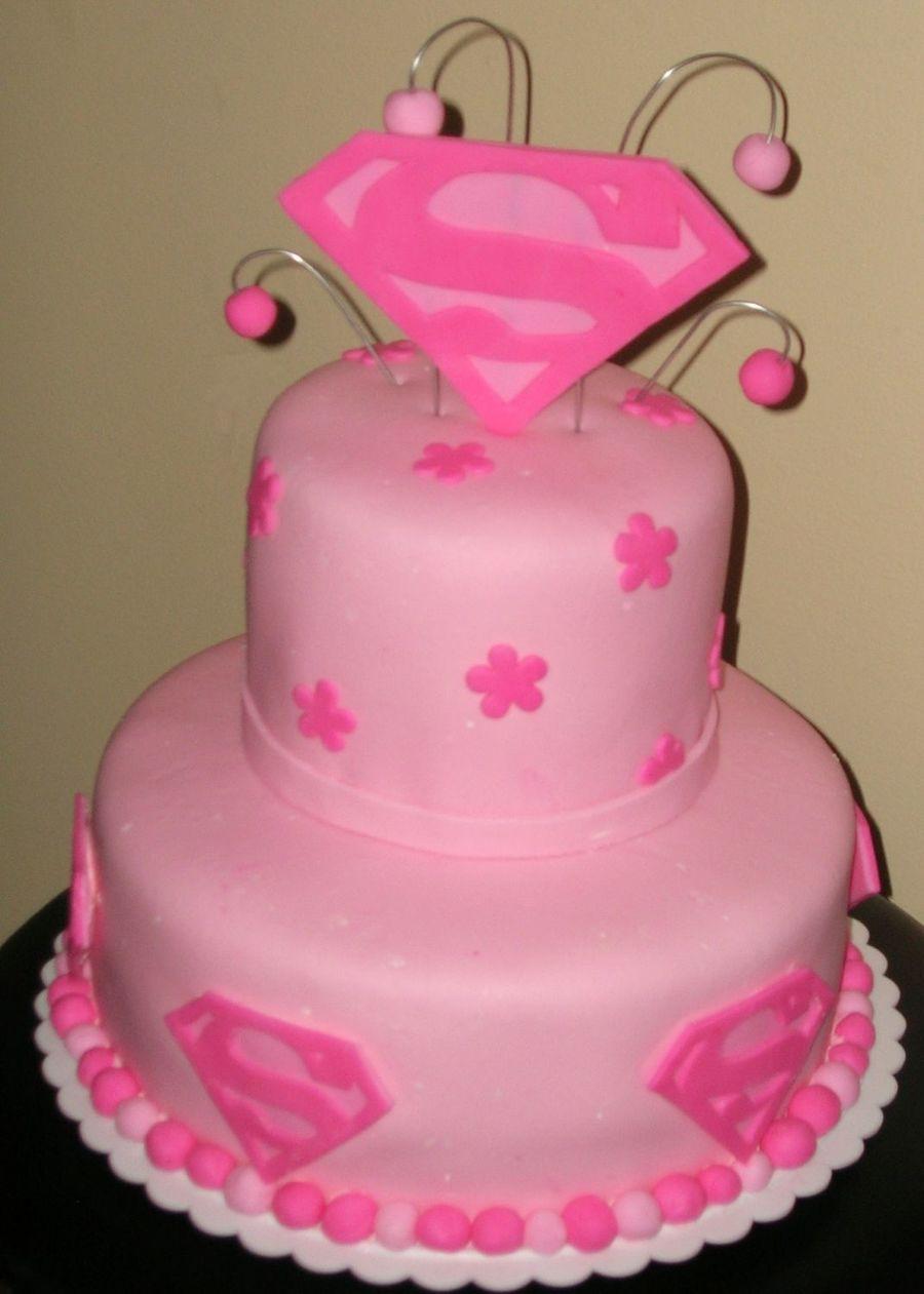 Supergirl Cake Cakecentral Com