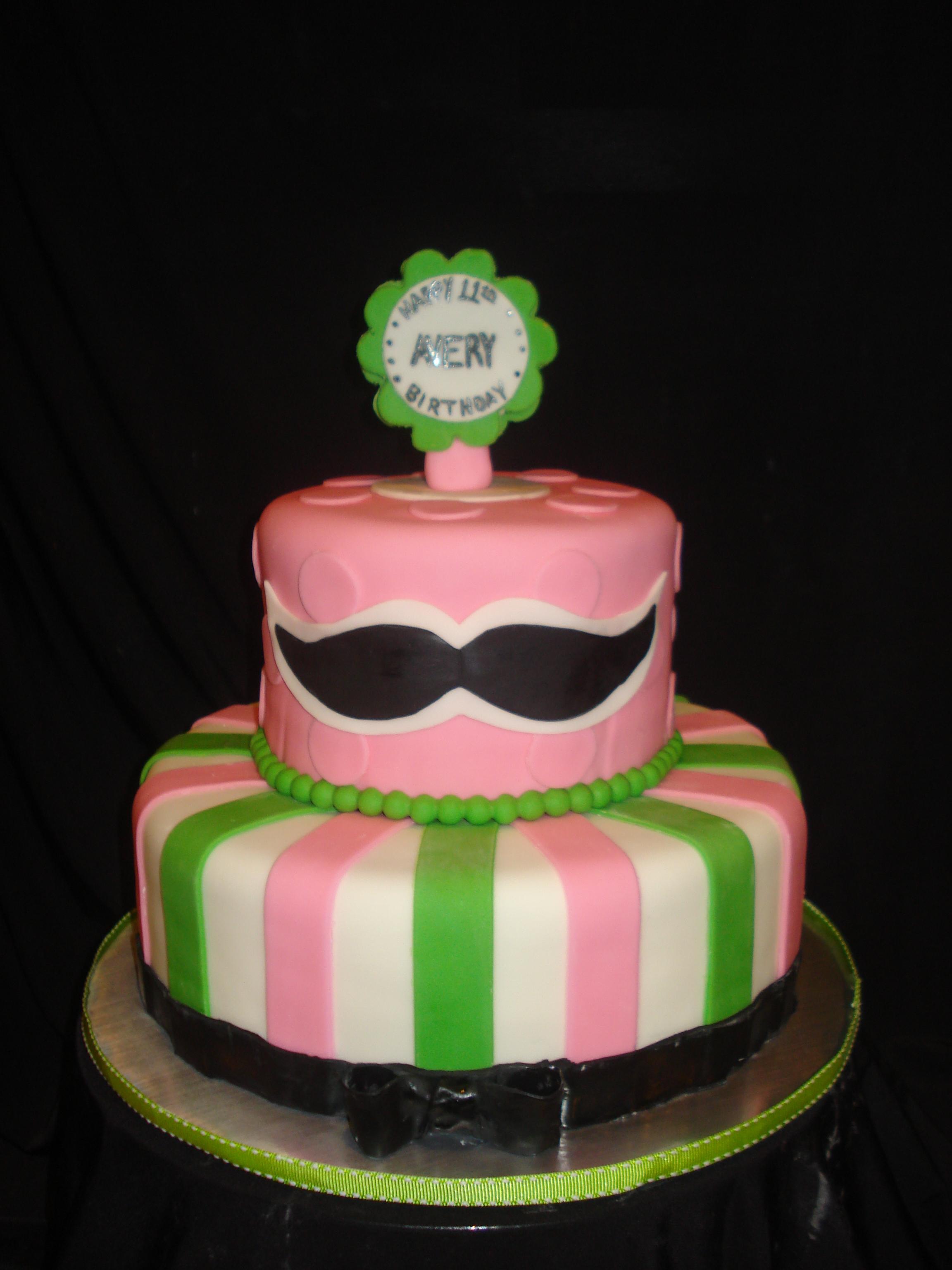 Elegant 40th Birthday Cake Brooch Is Made Of Sugar