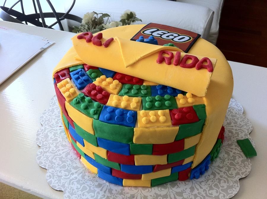 Lego Cake Cakecentral Com