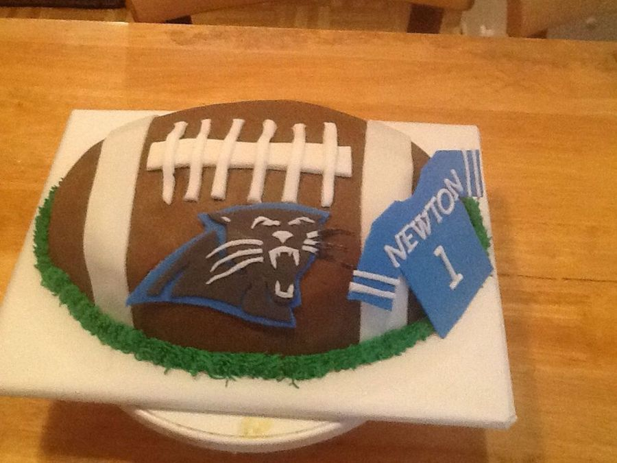 North Carolina Panthers Football Cake Cakecentral Com