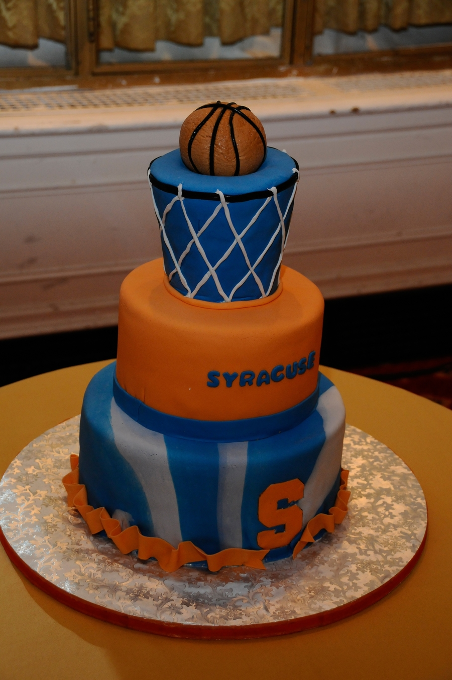 Syracuse University Basketball Cake Cakecentral Com