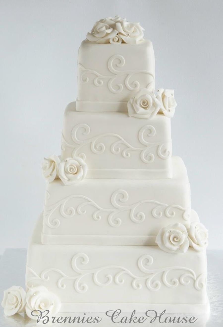 Romantic Wedding Cake Cakecentral Com