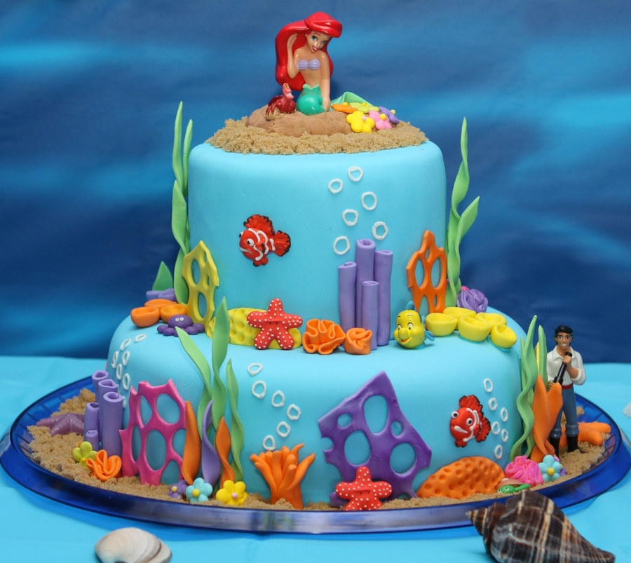 Ariel Cupcake Cake The Best Cake Of 2018