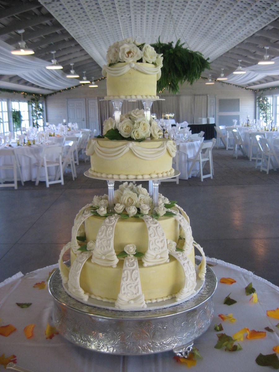 Wilton Style Wedding Cake Cakecentral Com