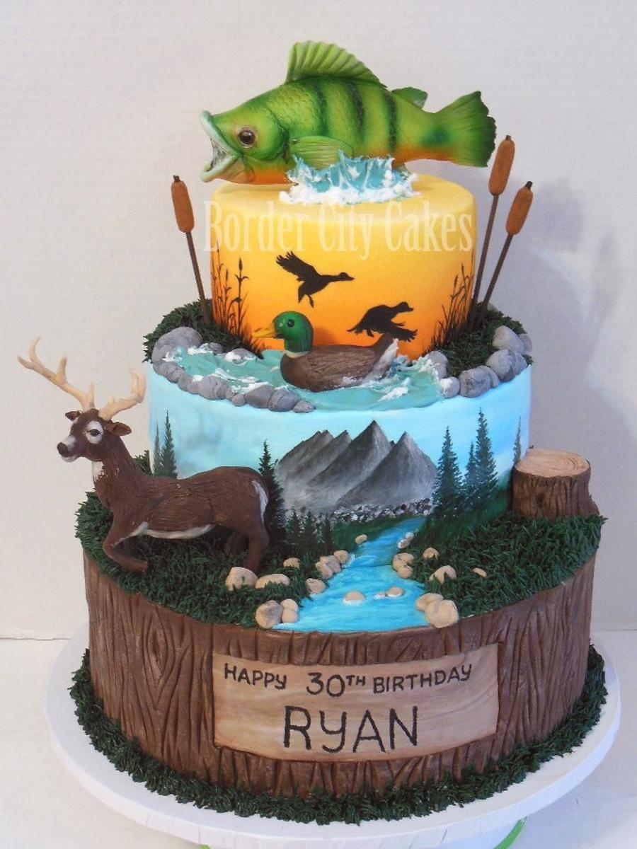 Sportsman S Cake Cakecentral Com