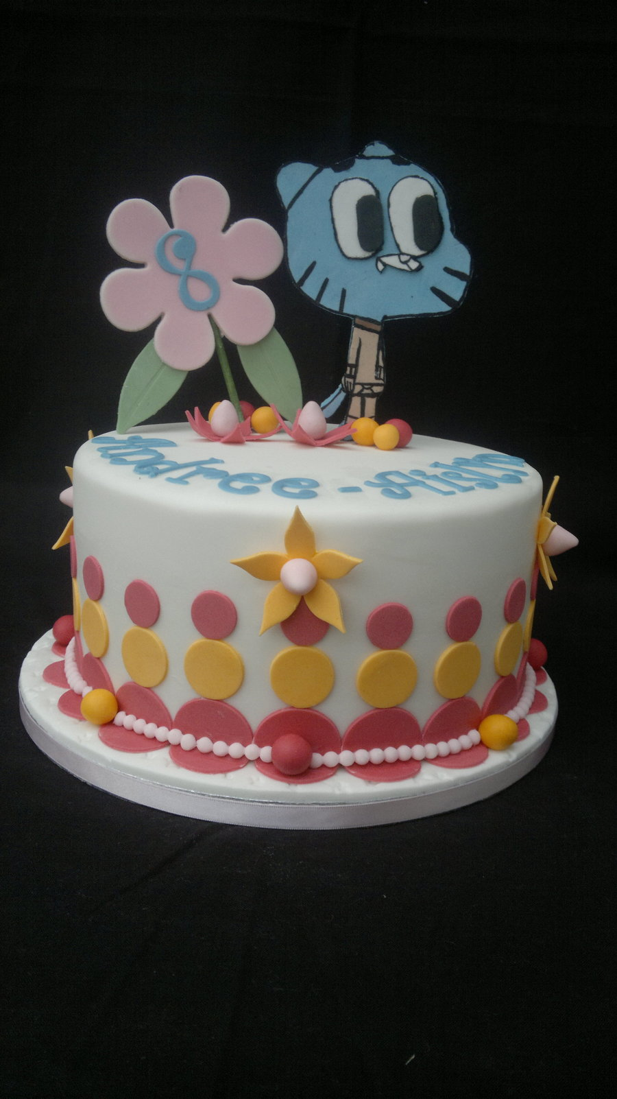Amazing World Of Gumball Cake Cakecentral Com