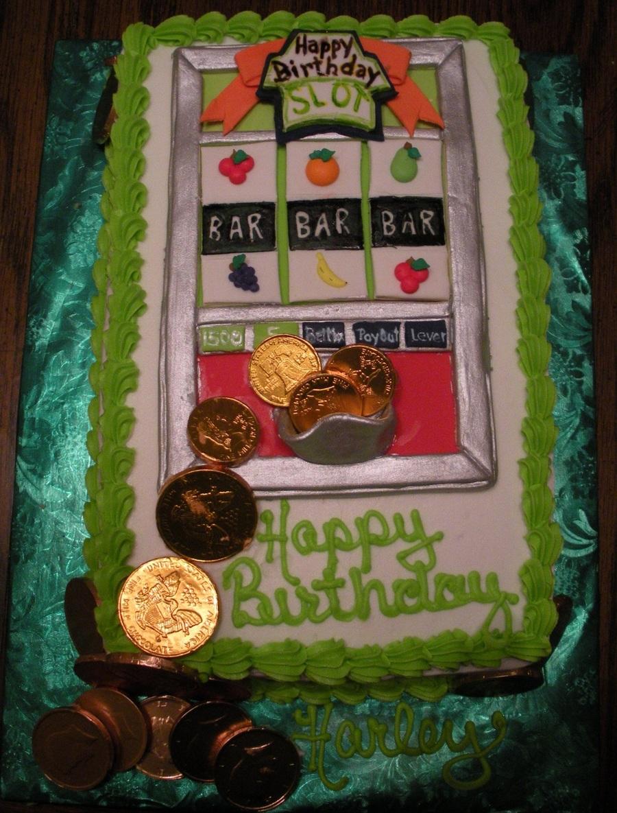 Happy Birthday Slot Machine Cakecentral Com