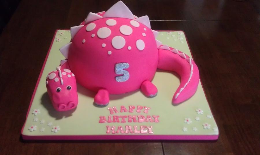 Dinosaur Cake Cakecentral Com