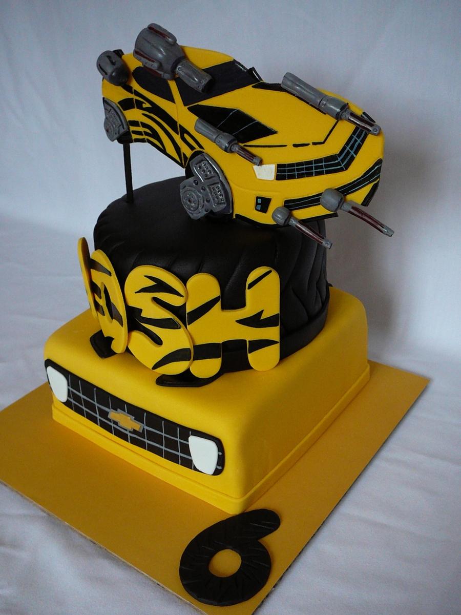 Bumblebee Transformer Cakecentral Com