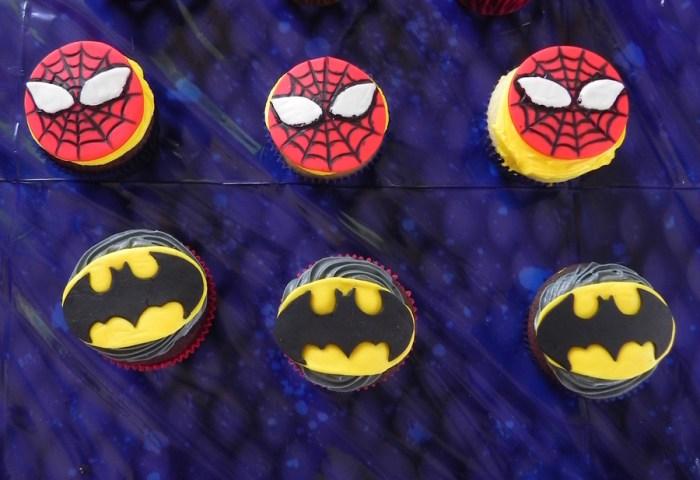 Superhero Cupcakes Cakecentralcom