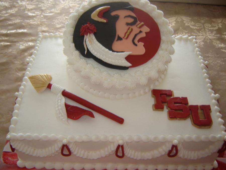 Fsu Mascot Grooms Cake Cakecentral Com