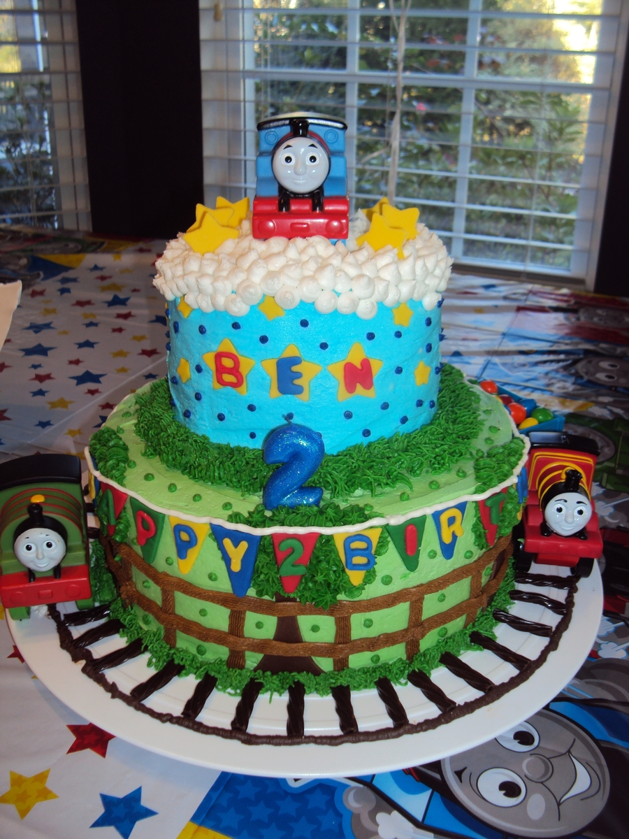 Thomas The Train Birthday Cake Cakecentral Com