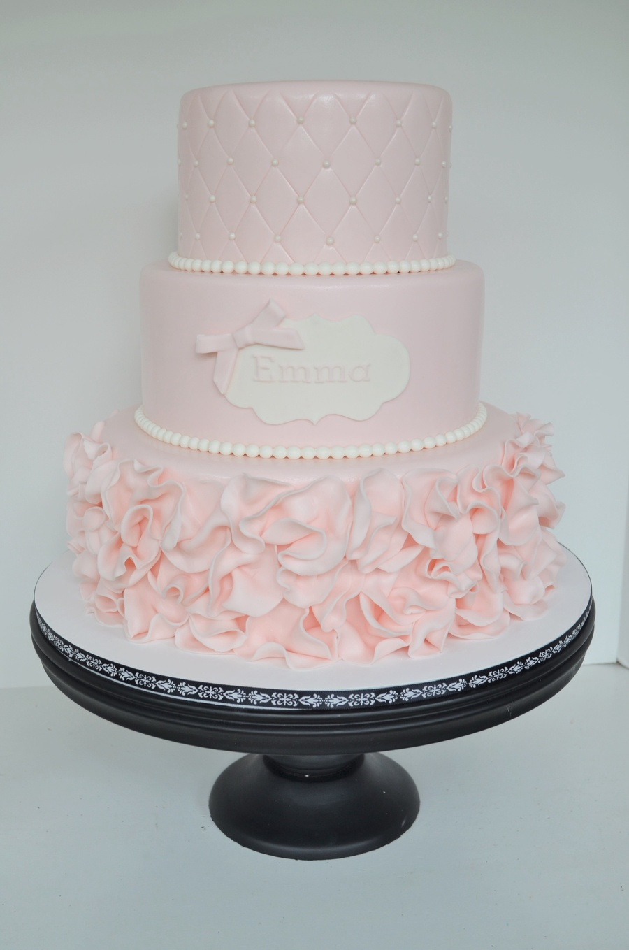Pink Ruffle Cake Cakecentral Com