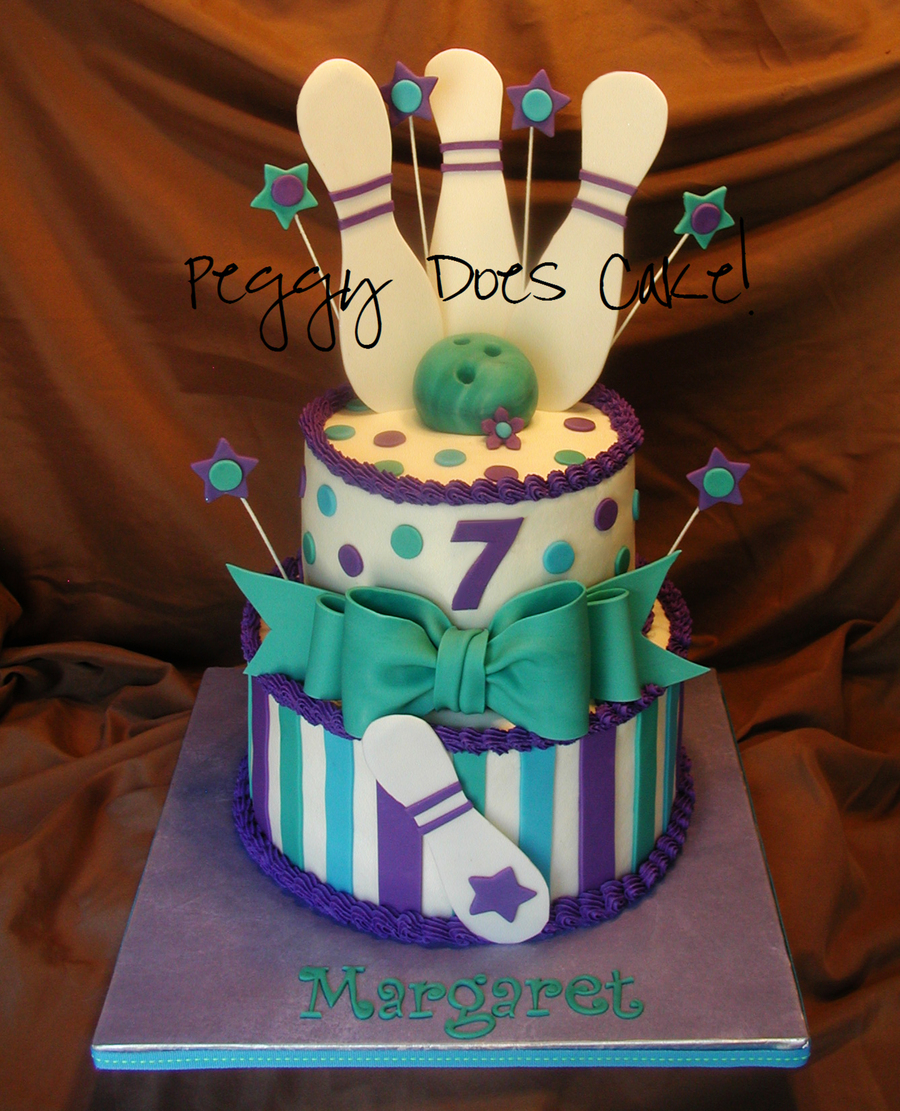 Bowling Alley Cake For Margaret Cakecentral Com