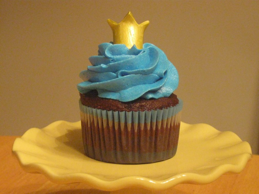Little Prince Cupcake