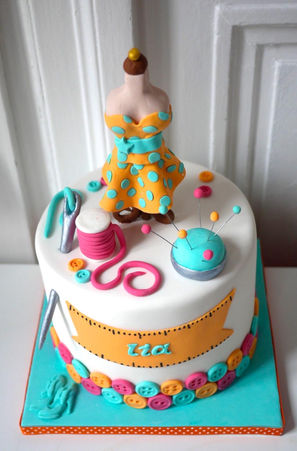 Dressmaker Taylor Dummy Sewer Cake Cakecentral Com