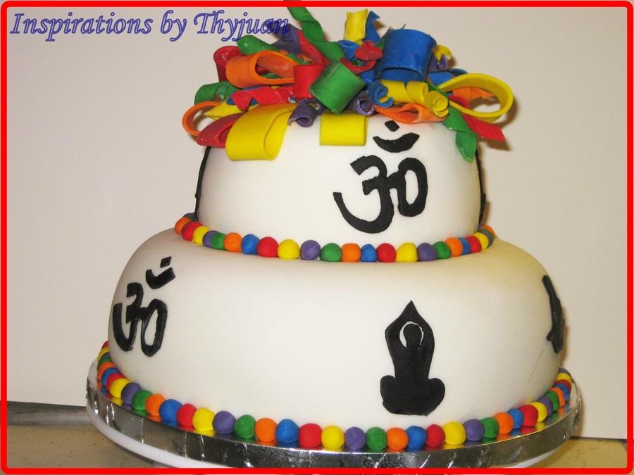 Yoga Teacher Birthday Cake Cookies Cakecentral Com