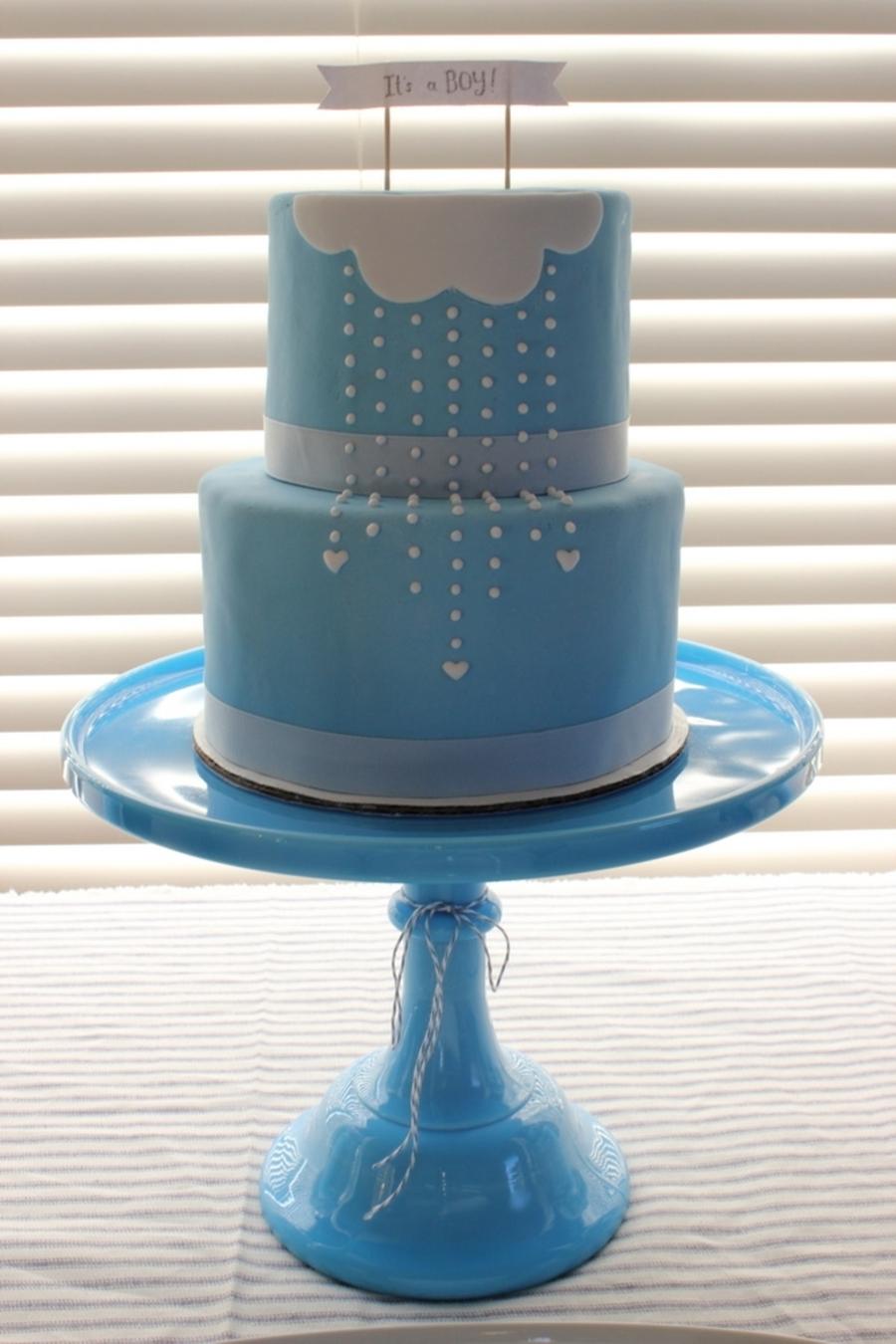 Boy Baby Shower Cake Cakecentral Com