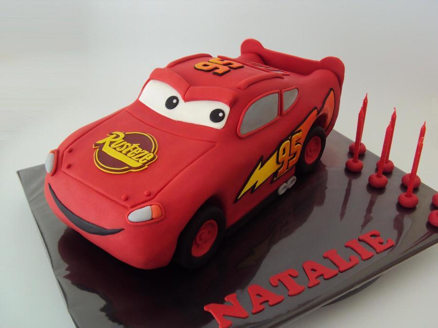 3d Lightning Mcqueen Cakecentral Com