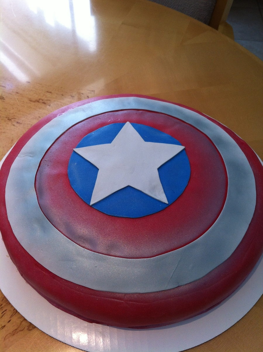 Captain America Shield Cakecentral Com