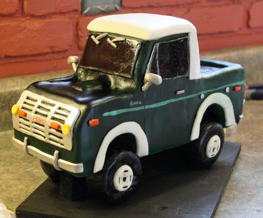 1976 Bronco Ford Half Cab