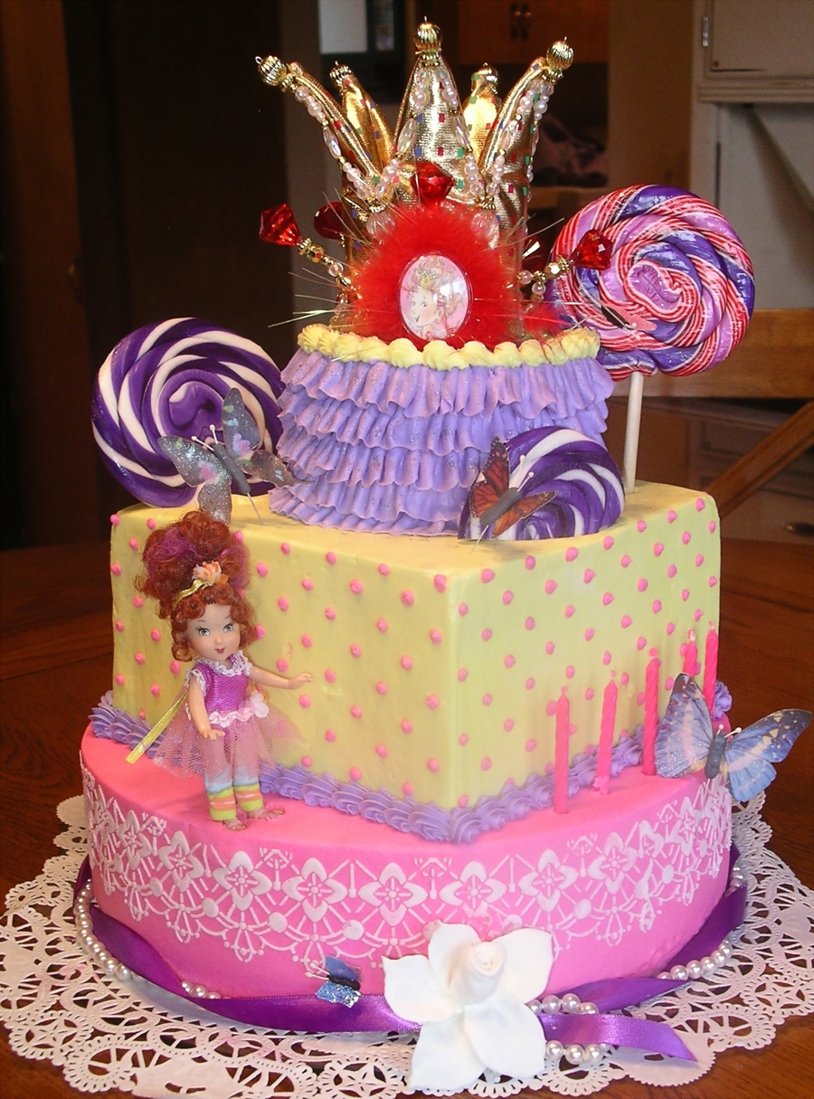 Fancy Nancy Cake Cakecentral Com