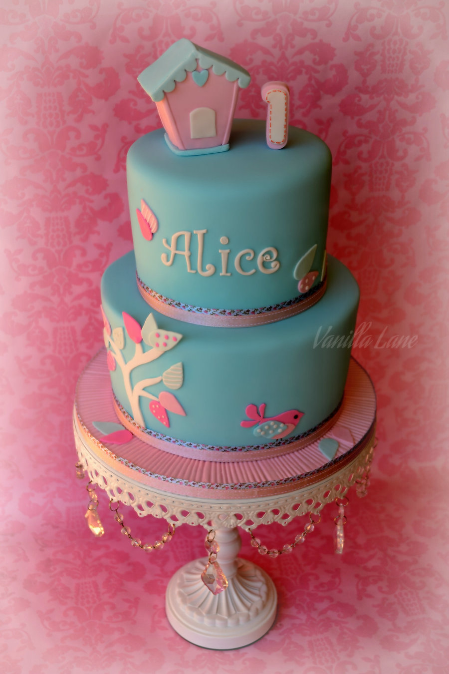 Happy 1st Birthday Alice My Really Good Friend Came To Me