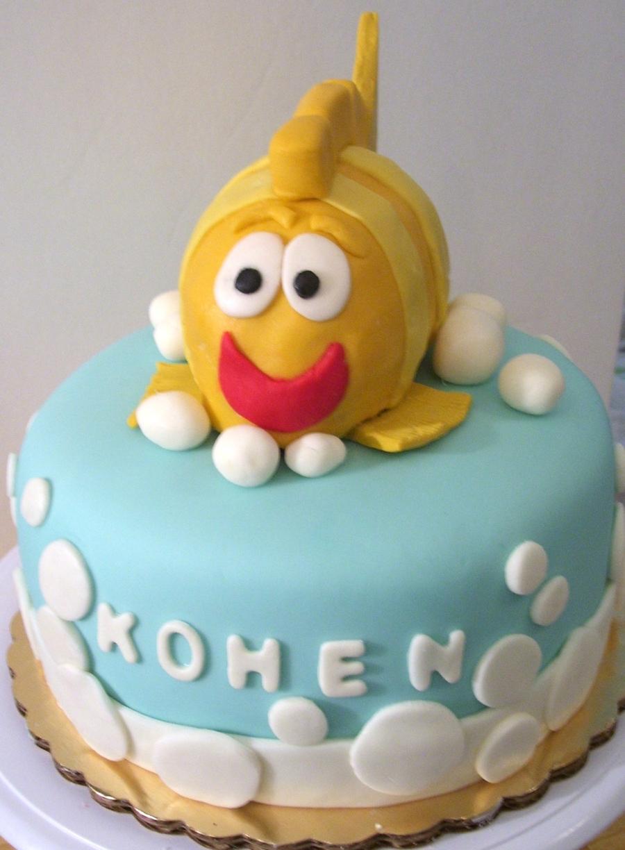 Cartoon Like Fish Birthday Cake Cakecentral Com