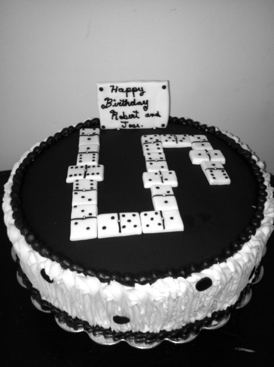 Domino Cake Cakecentral Com