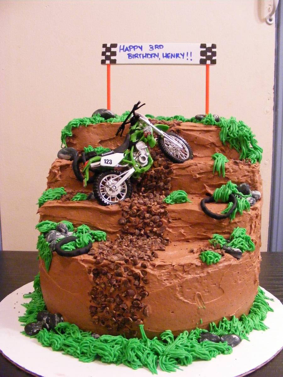 Boy S Motorbike Cake Cakecentral Com