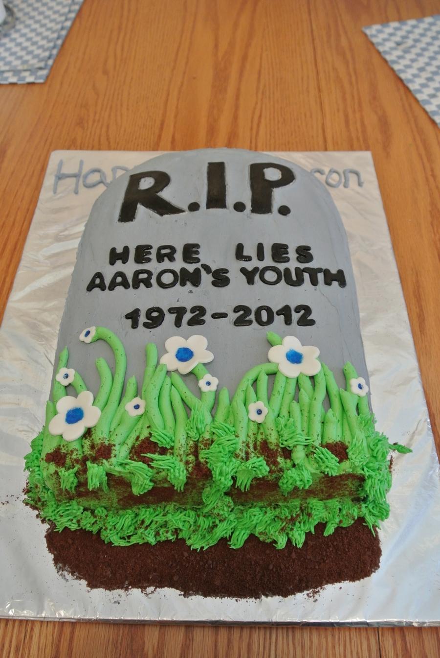 40th Birthday Cake Cakecentral Com