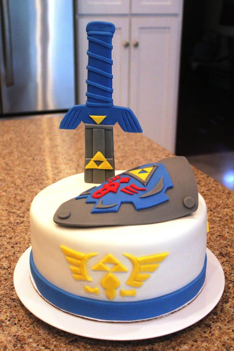 Zelda Birthday Cake Cakes And Cookies Gallery