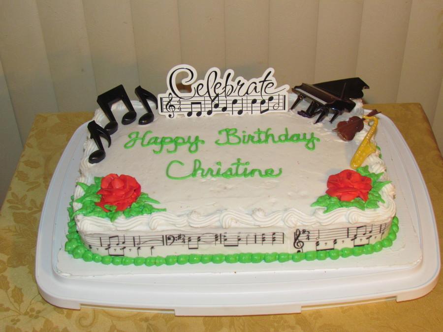 Happy Birthday Christine Cakecentral Com