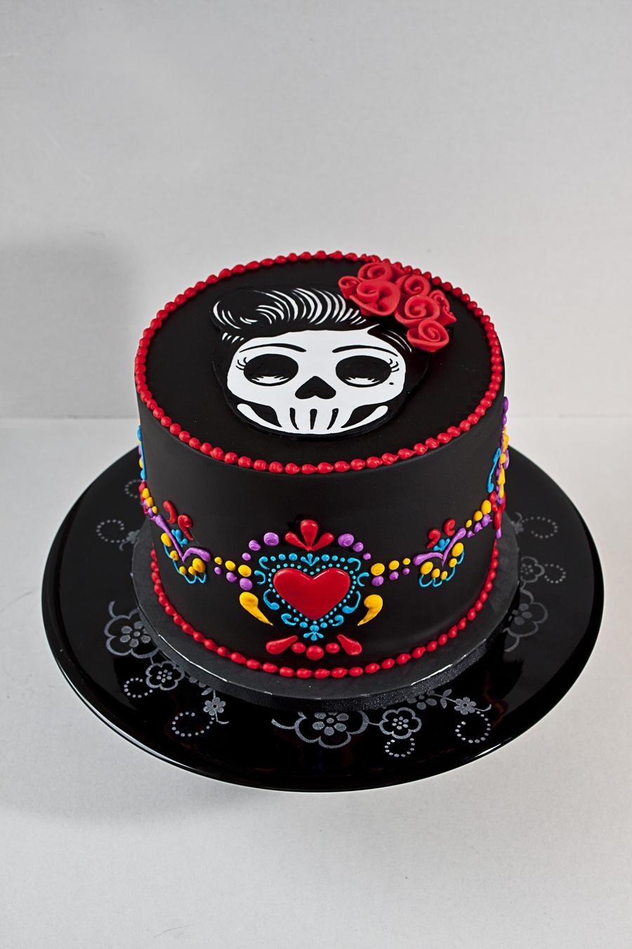 Dia De Los Muertos Birthday Cake Cakecentral Com