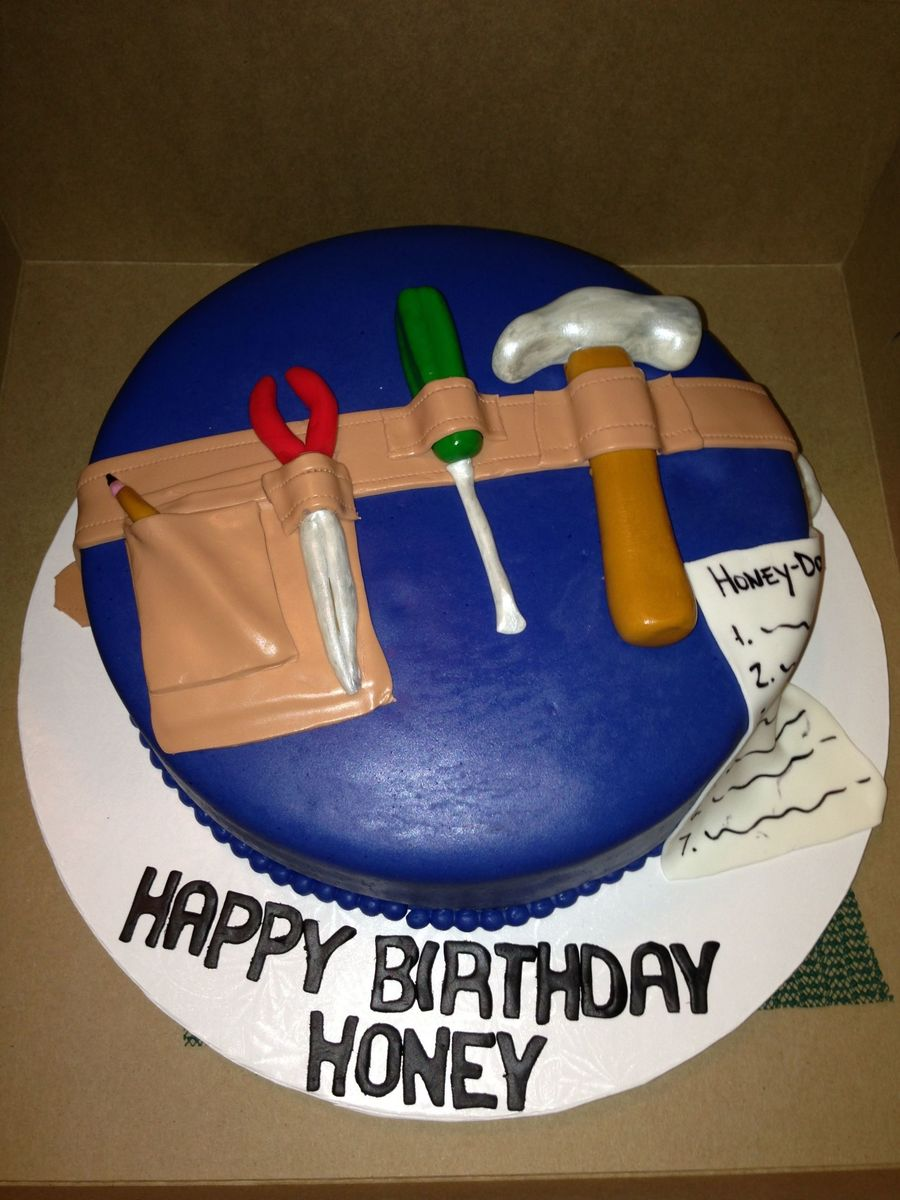 Construction Workers Birthday Cake Cakecentral Com