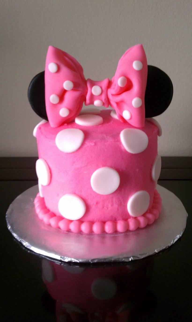 Minnie Mouse Smash Cake Photos | Bedwalls.co
