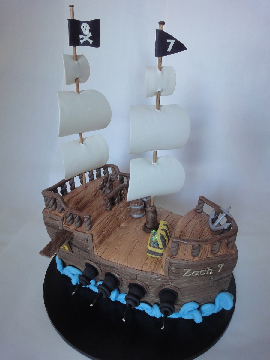 Pirate Ship Cake Cakecentral Com
