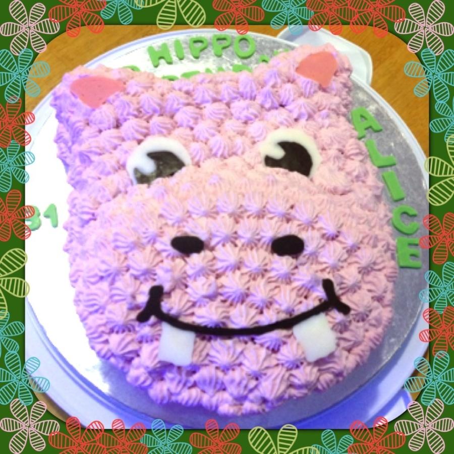 Hippo Birthday Cake Cakecentral Com