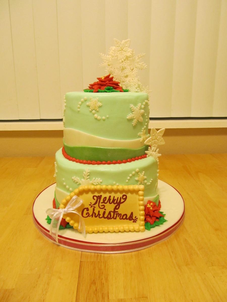 Merry Christmas Cake Cakecentral Com
