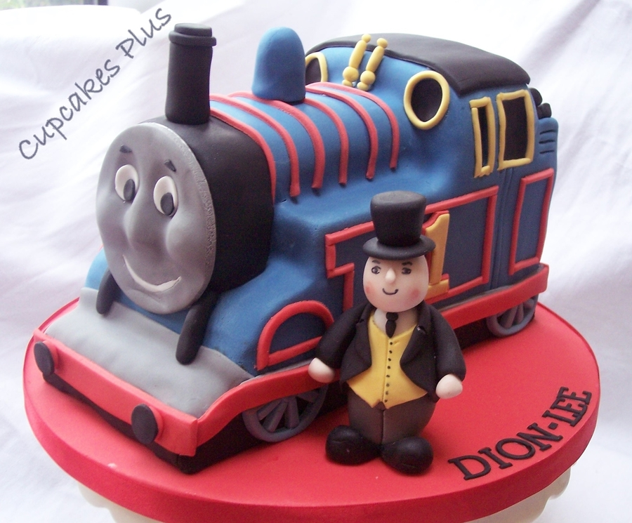 Thomas The Tank Engine Amp Fat Controller Cakecentral Com