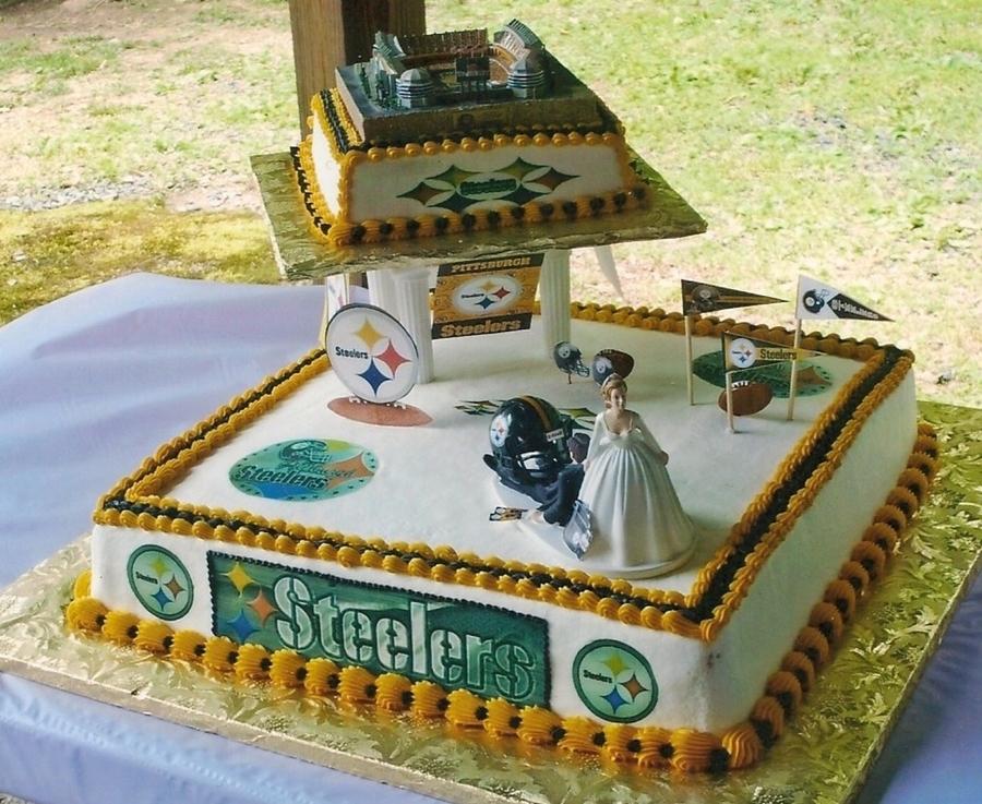 Pittsburgh Steelers Wedding Cake