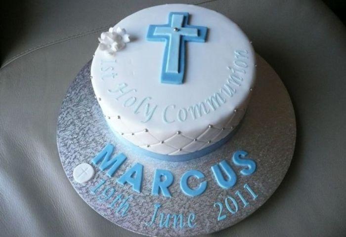 Boys First Holy Communion Cakecentralcom